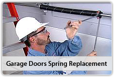 Garage Doors Spring Replacement